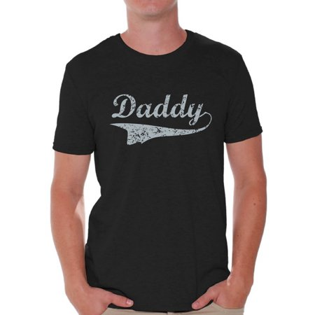 Awkward Styles Daddy Shirt Father T-shirt Graphic Men's T-shirt Vintage Tops for Best Dad Father's Day Gift for Dad Daddy Gifts from Daughter Daddy Gifts from Son Best Dad Ever