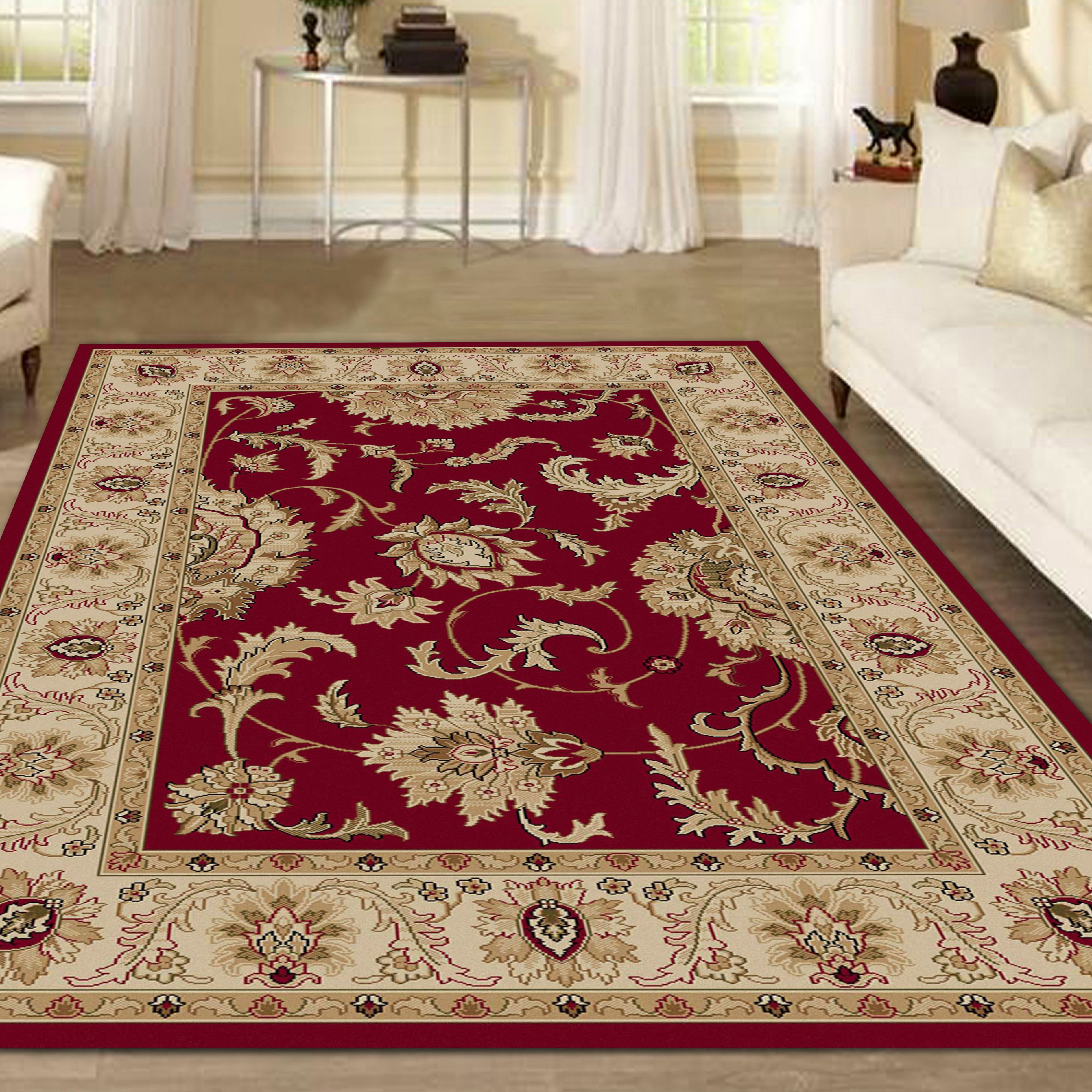 Radici USA Como 1621 Area Rug - Red