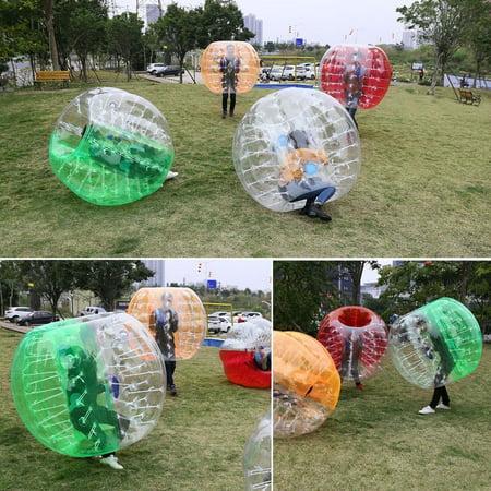 1.2M PVC Inflatable Bumper Ball Outdoor Human Bubble Soccer Ball Football Game](Giant Inflatable Soccer Ball)
