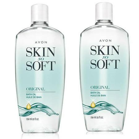 Avon Skin So Soft Original Bath Oil 25 oz Lot of