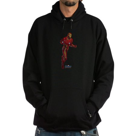 CafePress - Iron Man - Pullover Hoodie, Classic, Comfortable Hooded Sweatshirt