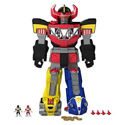 fisher-price imaginext power rangers morphin