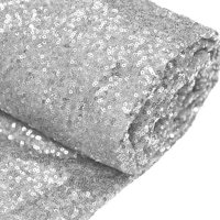 """Efavormart 54"""" x 4 yards Sequined Fabric Bolt Sewing Craft Bridal Supplies For Wedding Party Banquet Event Decor"""