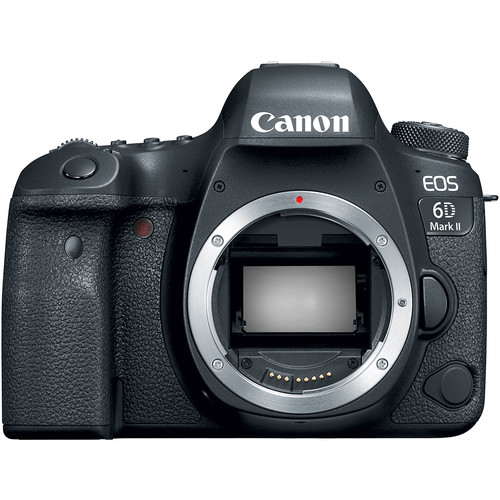 Canon EOS 6D Mark II (Body Only) - Black