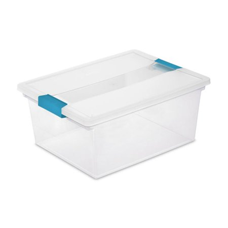 Sterilite Deep Clip Storage Box Container (8 Pack) + Medium Clip Box (8 Pack) - image 1 de 5