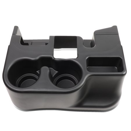 For 2003 to 2012 Dodge Ram Truck 1500 2500 3500 Center Console Add-On Storage Phone Drink Cup Holder Insert 04 05 06 07 08 09 10 11