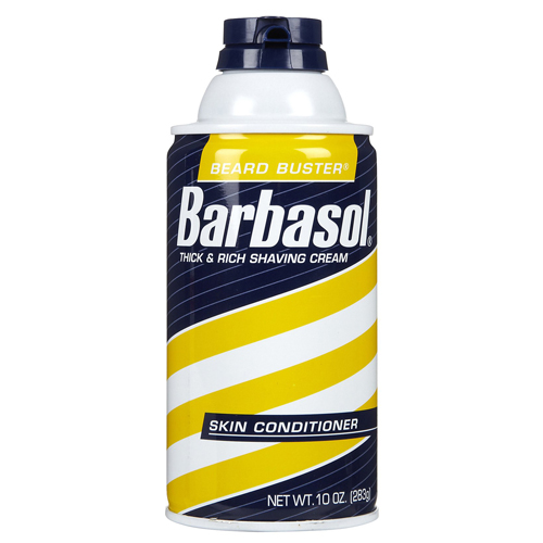 Barbasol Beard Buster Thick And Rich Shaving Cream, Skin Conditioner - 10 Oz