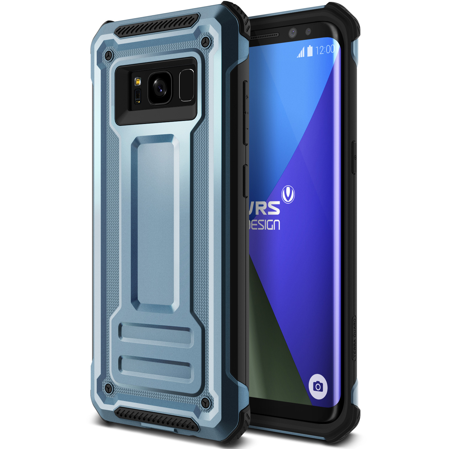 Samsung Galaxy S8 Case Cover | Shockproof Slim Protection | VRS Design Terra Guard for Samsung Galaxy S8