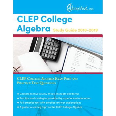 CLEP College Algebra Study Guide 2018-2019 : CLEP College Algebra Exam Prep and Practice Test Questions - Algebra 1 Halloween Activities