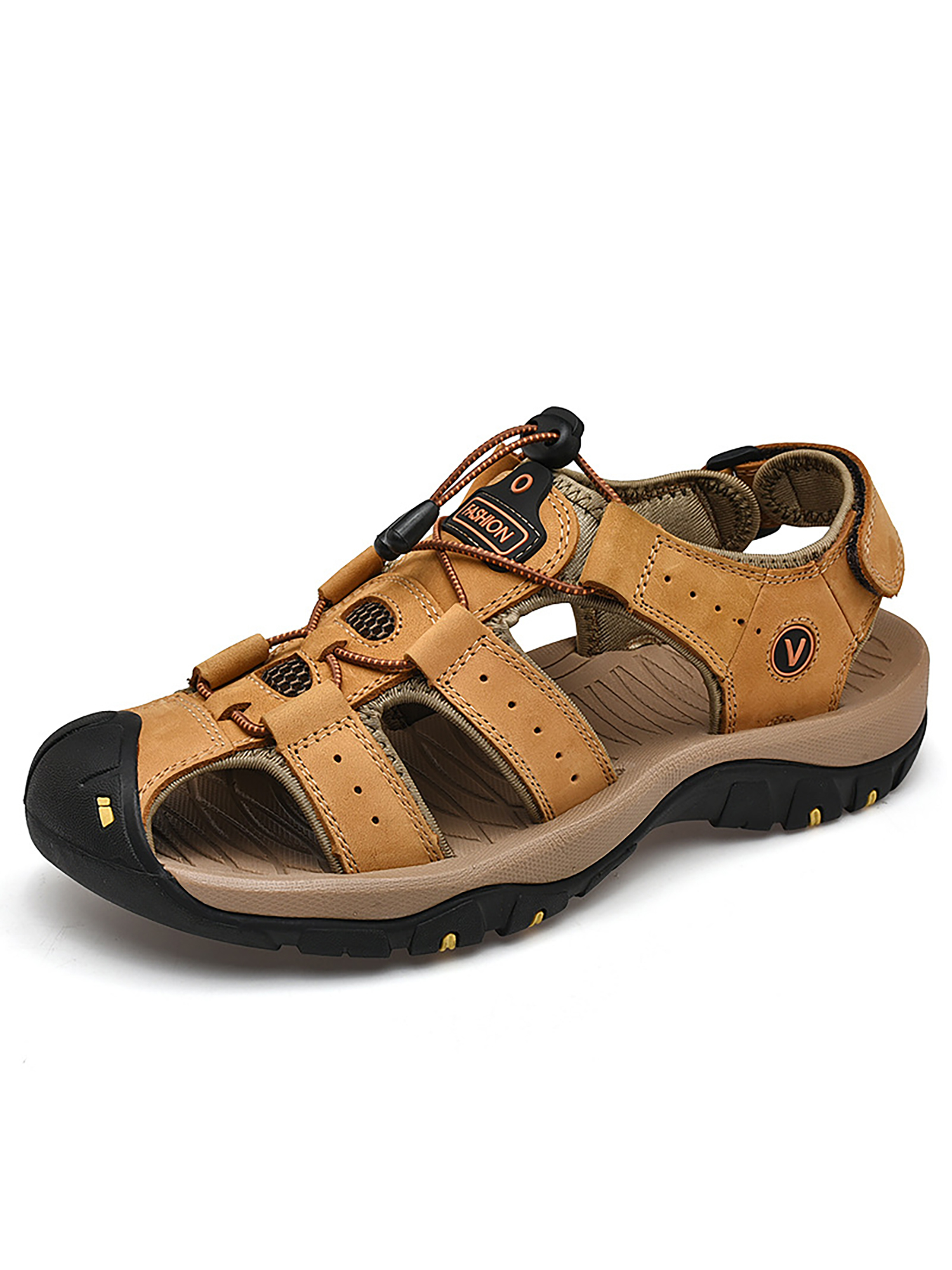 Men's Closed-toe Hiking Fisherman Sport Outdoor Summer Sandals Beach Water Shoes