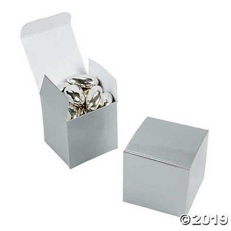 Mini Silver Gift Boxes (Mini Gift Boxes)