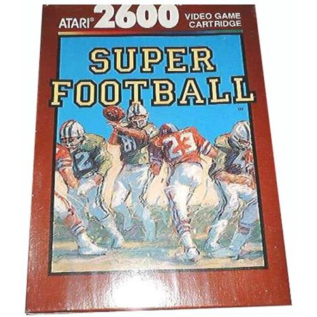 Super Football  2600  For Use With The Atari 2600 Video Game Console By Atari