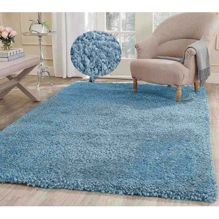 8 Feet By 10 Feet Pile Rug Fluffy Fuzzy Modern Home Store