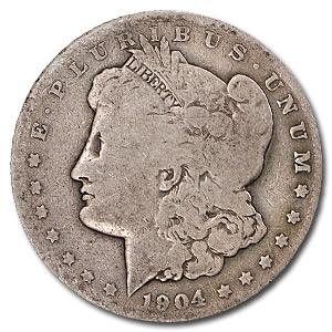 1904-S Morgan Dollar AG