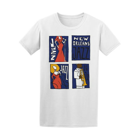 Jazz Music Festival New Orleans Tee Men's -Image by