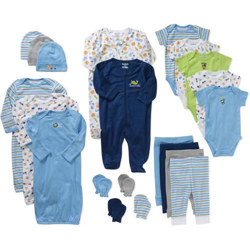 Garanimals Newborn Baby Boy 21 Pc Layette Baby Shower Gift Set