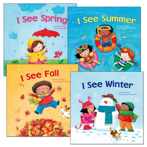 I See Books - Set of 4