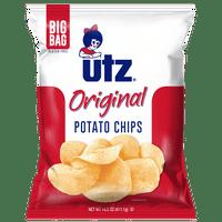 Utz Potato Chips, Original 14.5 Oz.