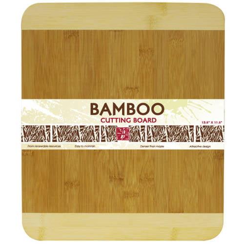 "Home Basics 13.5"" x 11.5"" Bamboo Cutting Board by Generic"