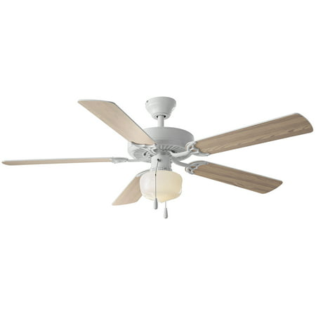 52 mainstays ceiling fan globe light white walmart 52 mainstays ceiling fan globe light white aloadofball Images