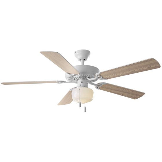 52 mainstays ceiling fan globe light white walmart 52 mainstays ceiling fan globe light white mozeypictures Image collections