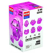 Geomag Kor Egg - Pink - 55 Piece Creative Magnet Playset - Swiss Made - Part of Geomag's World Famous Award Winning Product Line - Ages 5 and Up