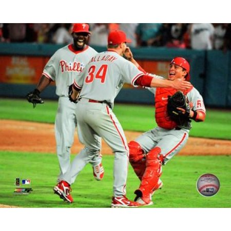 Roy Halladay Perfect Game Action Photo Print