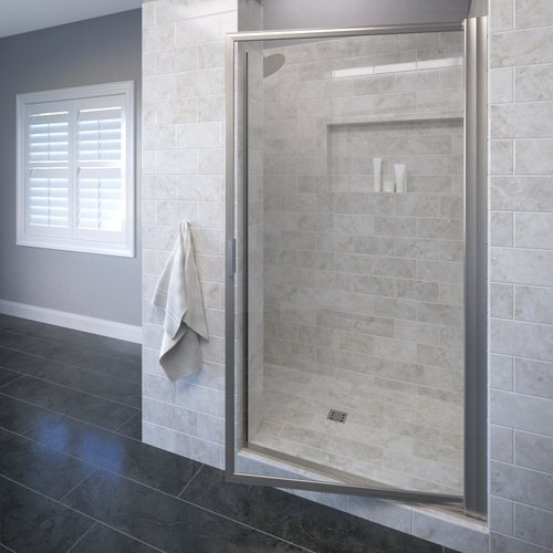 Basco Sopora 30'' x 71'' Pivot Framed Shower Door