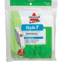Bissell Style 7 Vacuum Bags For Power Force Upright 3 Pk Part - 32120