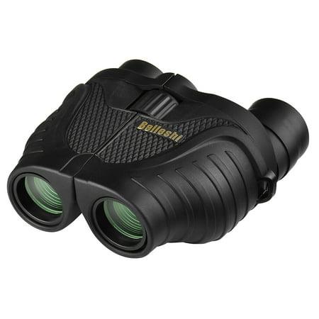10-30X25 Zoom Compact Binoculars Telescope for Outdoor Camping Hiking Bird Watching Travel