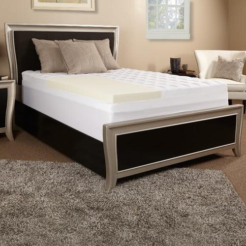 Luxury Solutions 5.5'' Memory Foam Mattress Topper