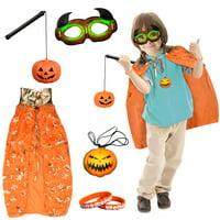 Halloween Jack O' Lantern Pumpkin Suit Party Clothes Kids F-215