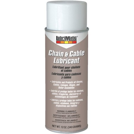 - LubriMatic Cable and Chain Lubricant