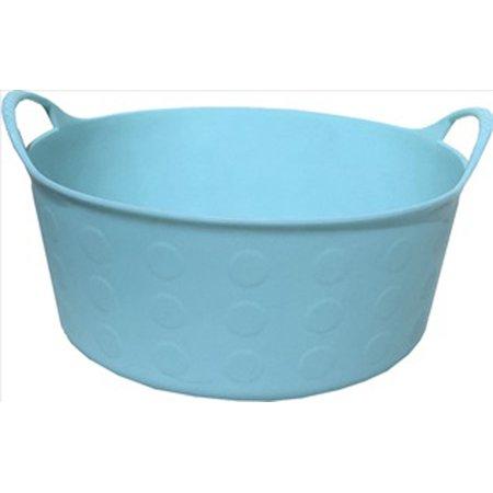 Tuff Stuff Products Inc-Flex Tub- Sky Blue 4 Gallon (Sky Blue Tub)