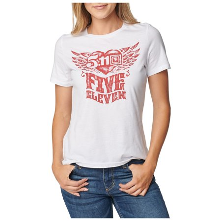 5.11 Tactical Women's Devotion Tee, Moisture-Wicking Construction, Lightweight Fabric, White, M, Style 31222MB thumbnail