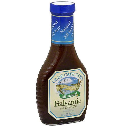 Olde Cape Cod Balsamic Salad Dressing With Olive Oil, 8 oz (Pack of 6)