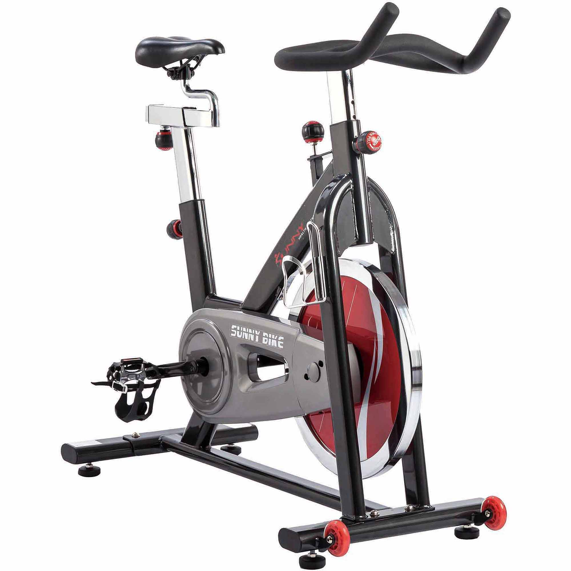 Sunny Health and Fitness SF-B1002C Chain Drive Indoor Cycling Exercise Bike