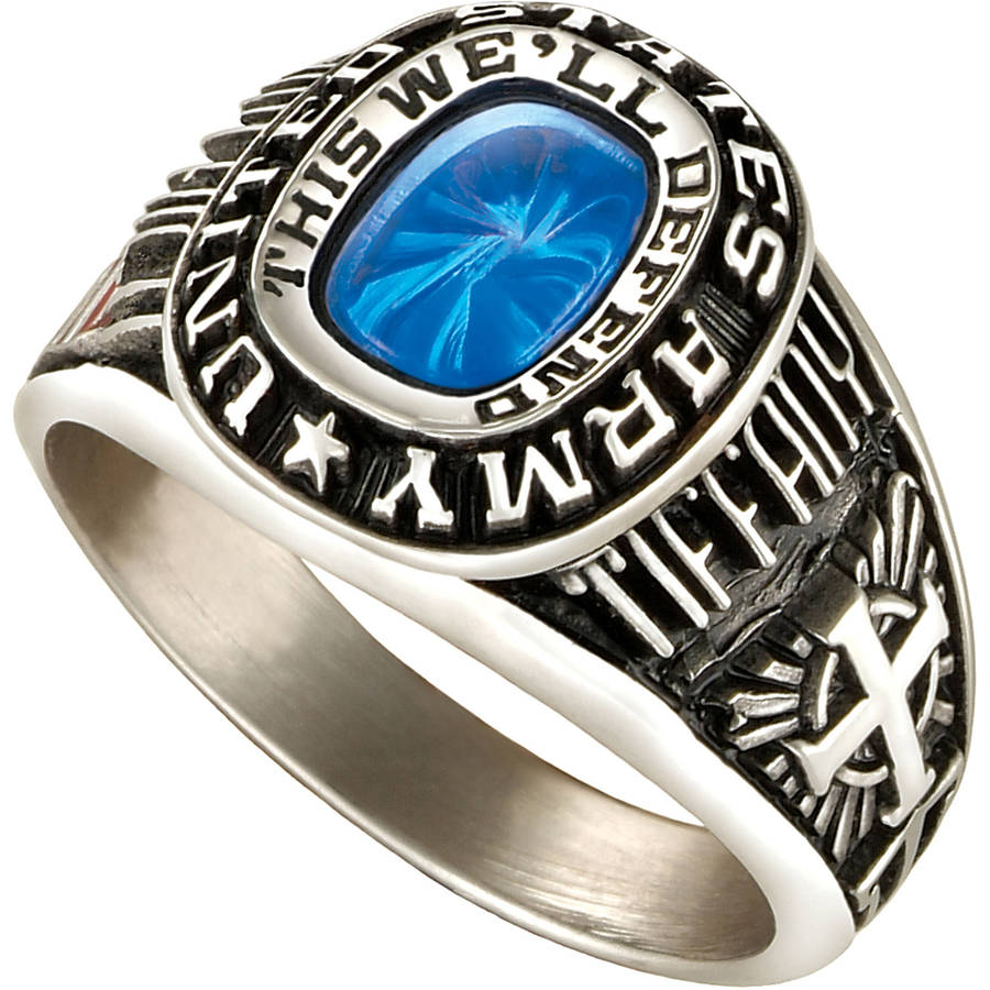 Personalized Keepsake Women's Military Ring