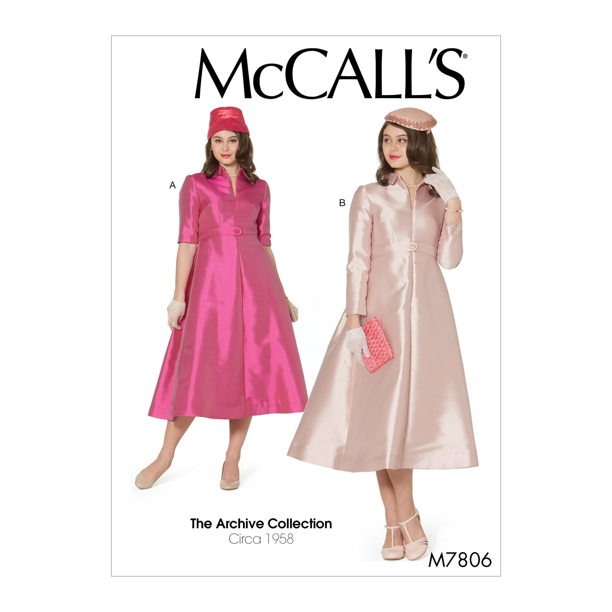 McCall s Sewing Pattern Misses  Dresses-14-16-18-20-22 - Walmart.com f8dccc307