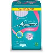 s Assurance Underwear (Fresh Lavender Color), XL, 32 ct (XL, 1 PACK), This OFFER includes ONE (1) Women's Assurance Maximum XL Underwear, 32 count By Women