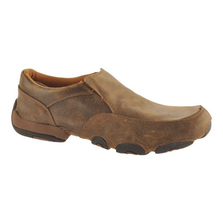 Men's Twisted X MDMS001 Leather Slip-On Driving - Leather Driving Mocs