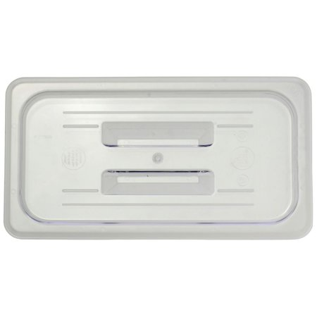 - Third Size Cover With Handle Cold Food Pans Solid Translucent