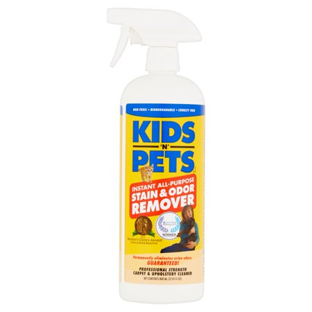 Kids N Pets Instant All Purpose Stain And Odor Remover  32Oz