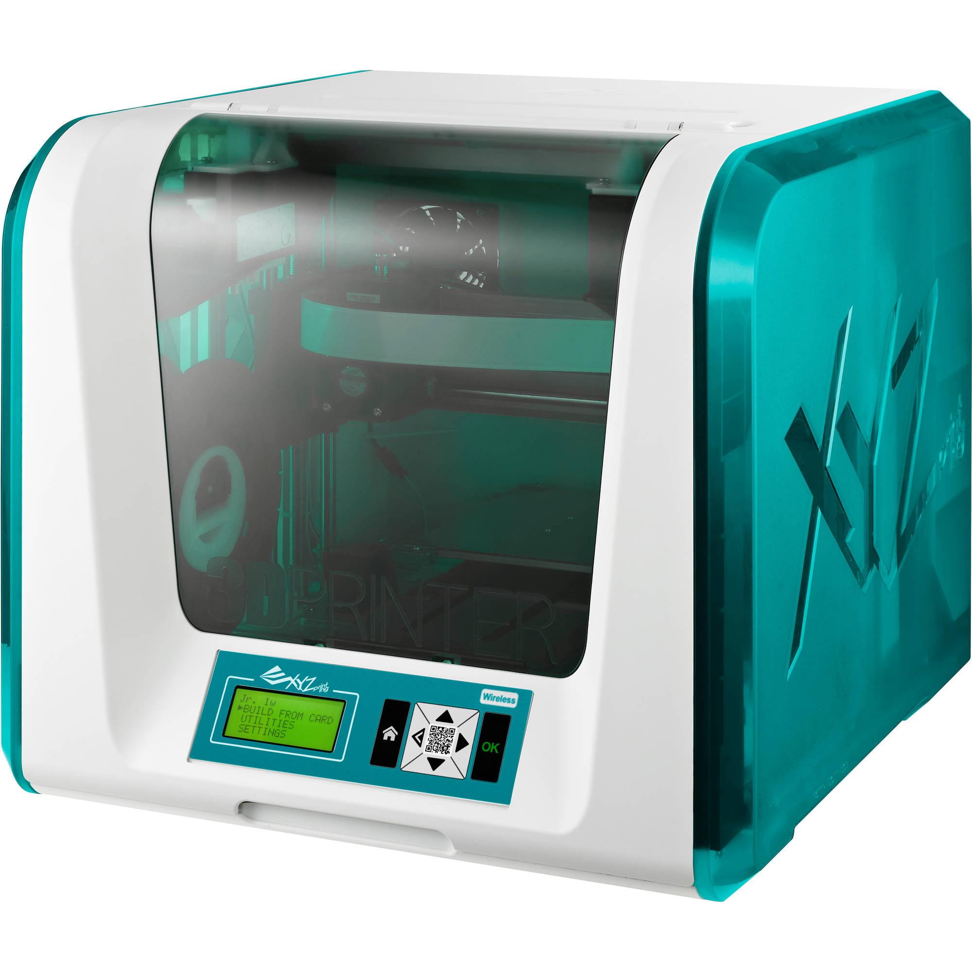 da Vinci Junior 1.0w WiFi 3D Printer w/ K-12 Steam 3D Printing
