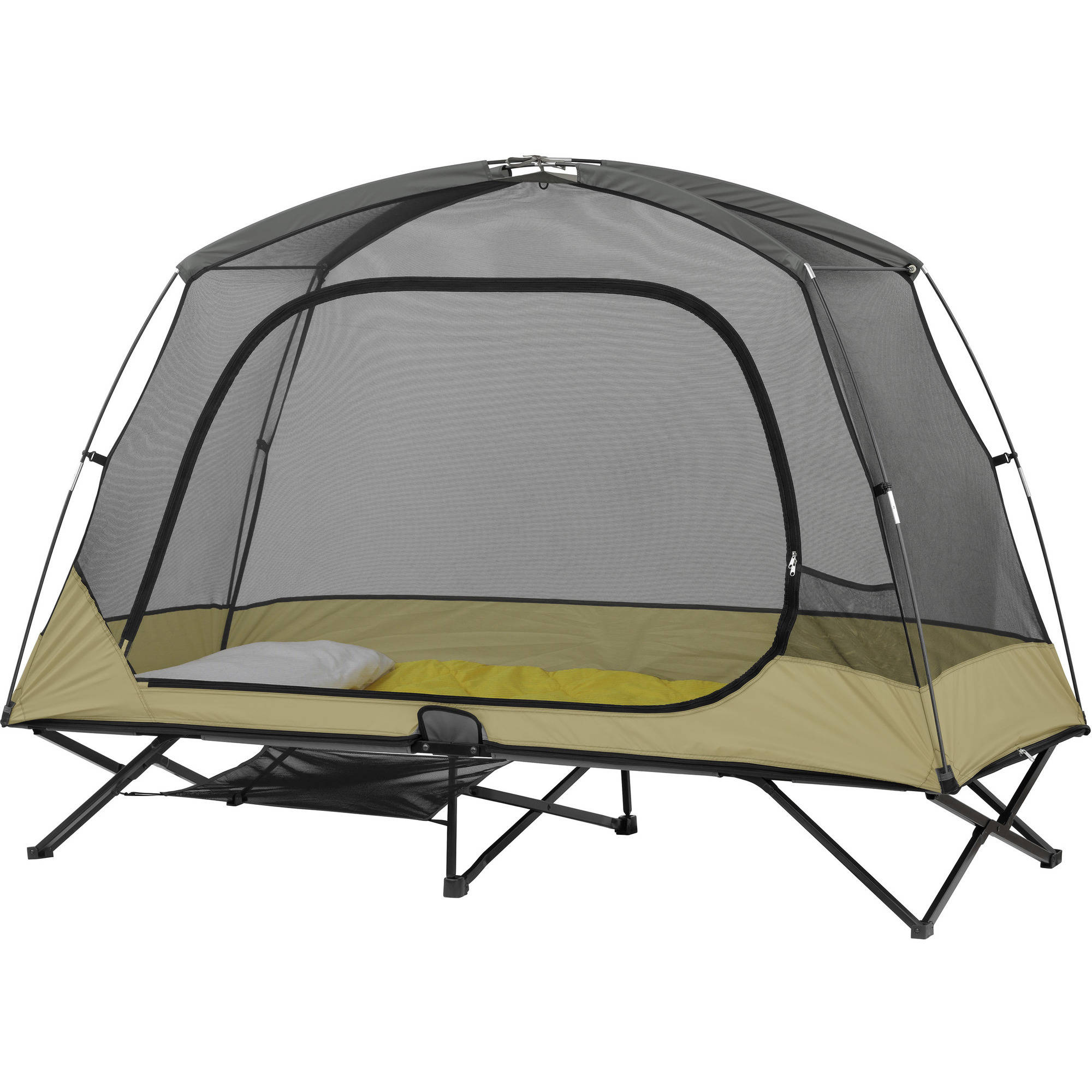 Ozark Trail One-Person Cot Instant Tent Outdoor Elevated ...