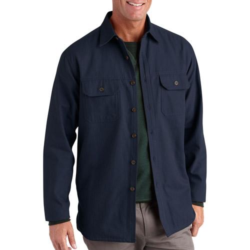 Men's Long Sleeve Canvas Shirt