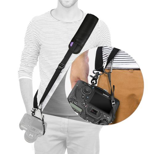 Rapid Fire Quick Release Sling Shoulder Neck Strap by Altura Photo for DSLR Camera (For Canon Nikon Sony Olympus Pentax and More)