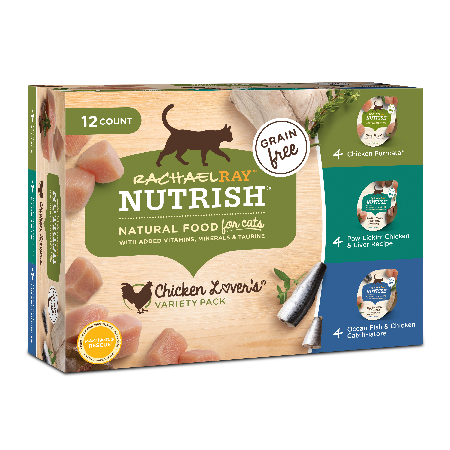 grain free cat food walmart rachael ray rachael ray nutrish natural wet cat food variety pack grain free chicken lovers free