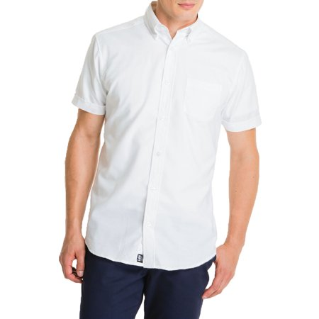 Lee Uniforms Young men's short sleeve oxford shirt Classic Cotton Oxford Shirt