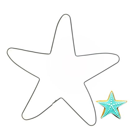 Joyfeel Clearance Stainless Cookie Starfish Shape Biscuit Mold Stainless Cutter Cake Cupcake Baking Tool